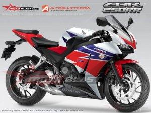 Jika Benar New CBR250RR Akan Seperti Ini, Maka Gegerlah Dunia Motorsport 250cc!!