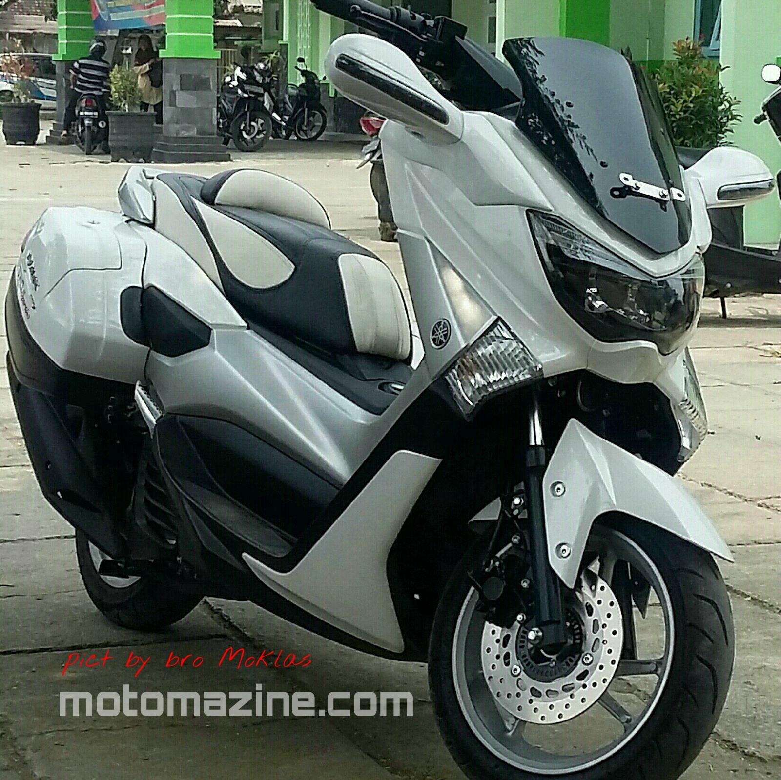 yamaha nmax modifikasi touring modifikasi motor kawasaki