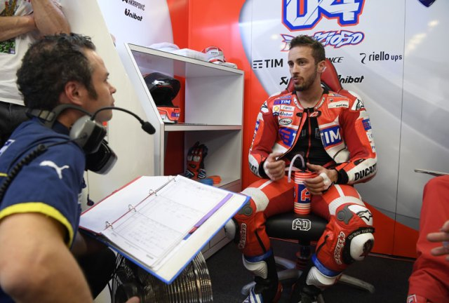 MotoGP: Andrea Dovisiozo terpilih Temani Lorenzo di Ducati hingga 2018