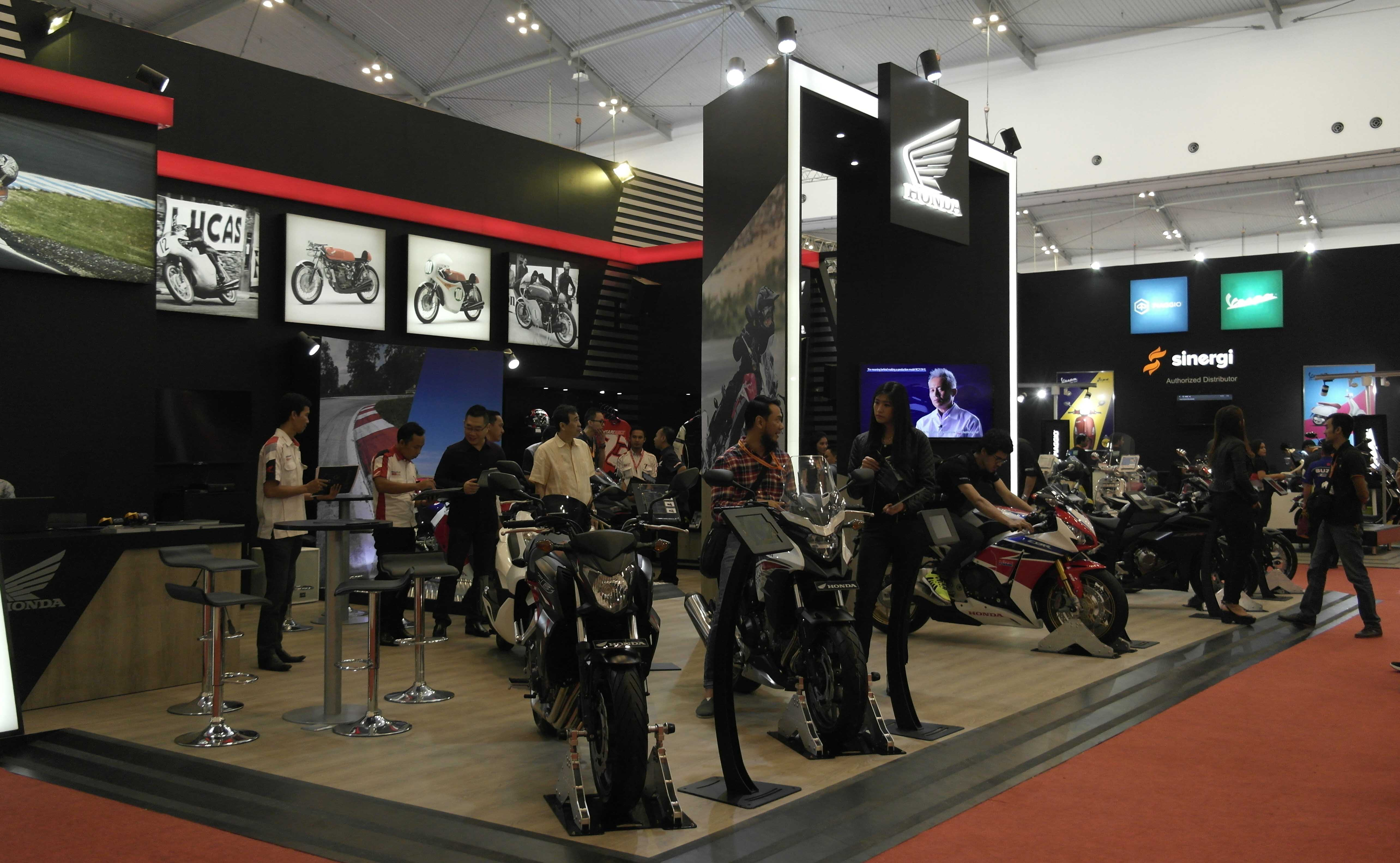 Luar Biasa.. 29 Big Bike Honda Ludes Terjual pada Gelaran GIIAS 2016