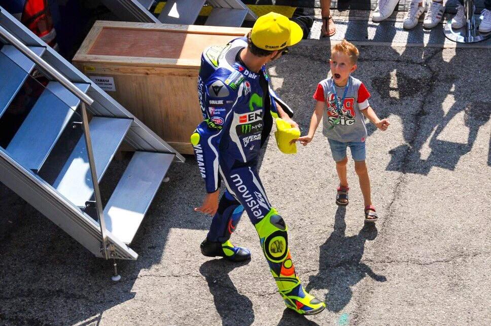 Jelang MotoGP Aragon Valentino Rossi Hanya Targetkan Membalap Sebaik Mungkin