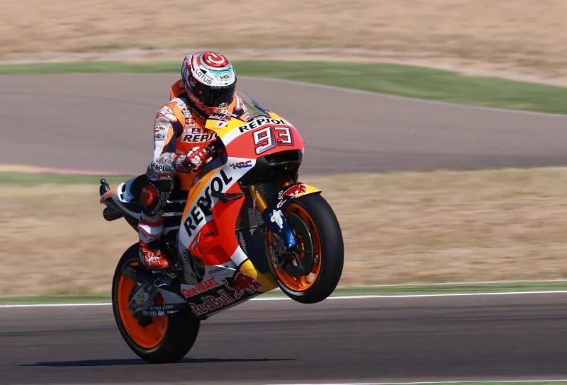 Marc Marquez Raih Pole MotoGP Aragon 2016. Vinales Dua, Lorenzo Tiga Rossi Enam