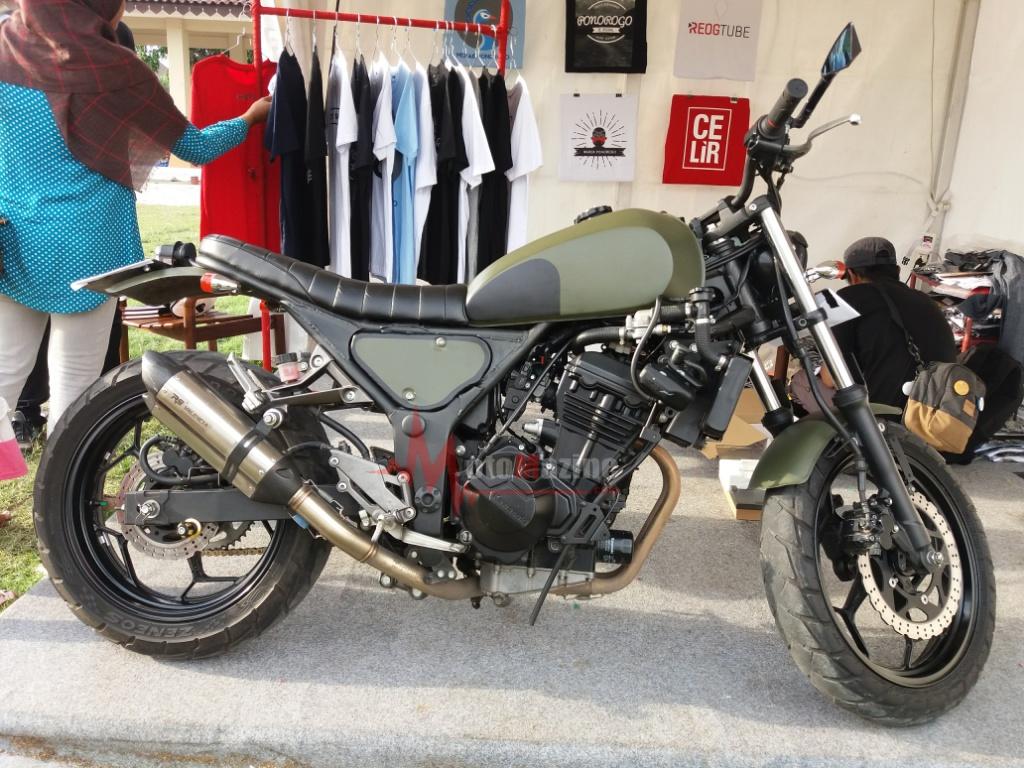 Modifikasi Kawasaki Z250 2014 ala Cafe Biker berikut Mungkin bisa Menginspirasi untuk Tampil Beda