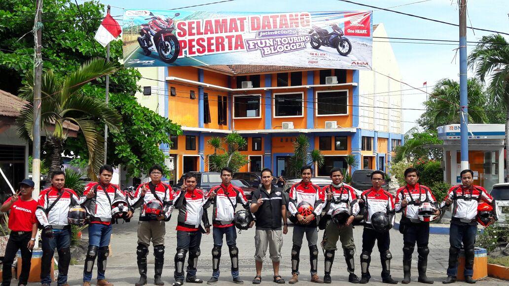 'Fun Touring' Blogger bareng MPM Honda Sambangi Pantai Pasir Putih Situbondo (Part 2)