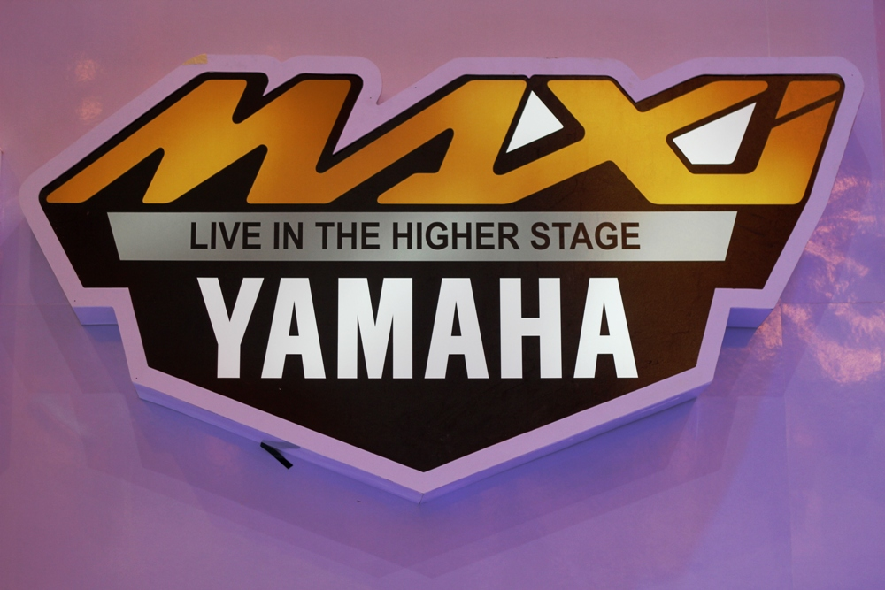 MAXI Yamaha (TMax, Xmax, NMax) Resmi diperkenalkan. Live in the Higher Stage
