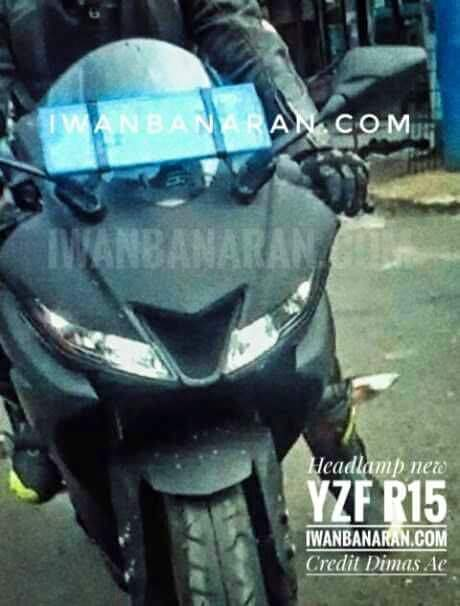 Semua Puzzle Terbuka. Headlamp Yamaha R15 V3 Terpampang Nyata. Sipit, LED ada Lubang Air Ram