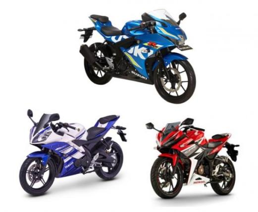 komparasi-performa-gsxr150-vs-r15-vs-cbr150r