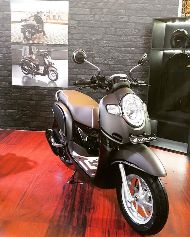 24 Terkini Motor Scoopy 2018 Stylish Matte Brown