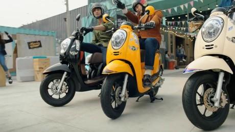 New Honda Scoopy Velg 12 Segera Hadir Di Tanah Air Mungil Tapi
