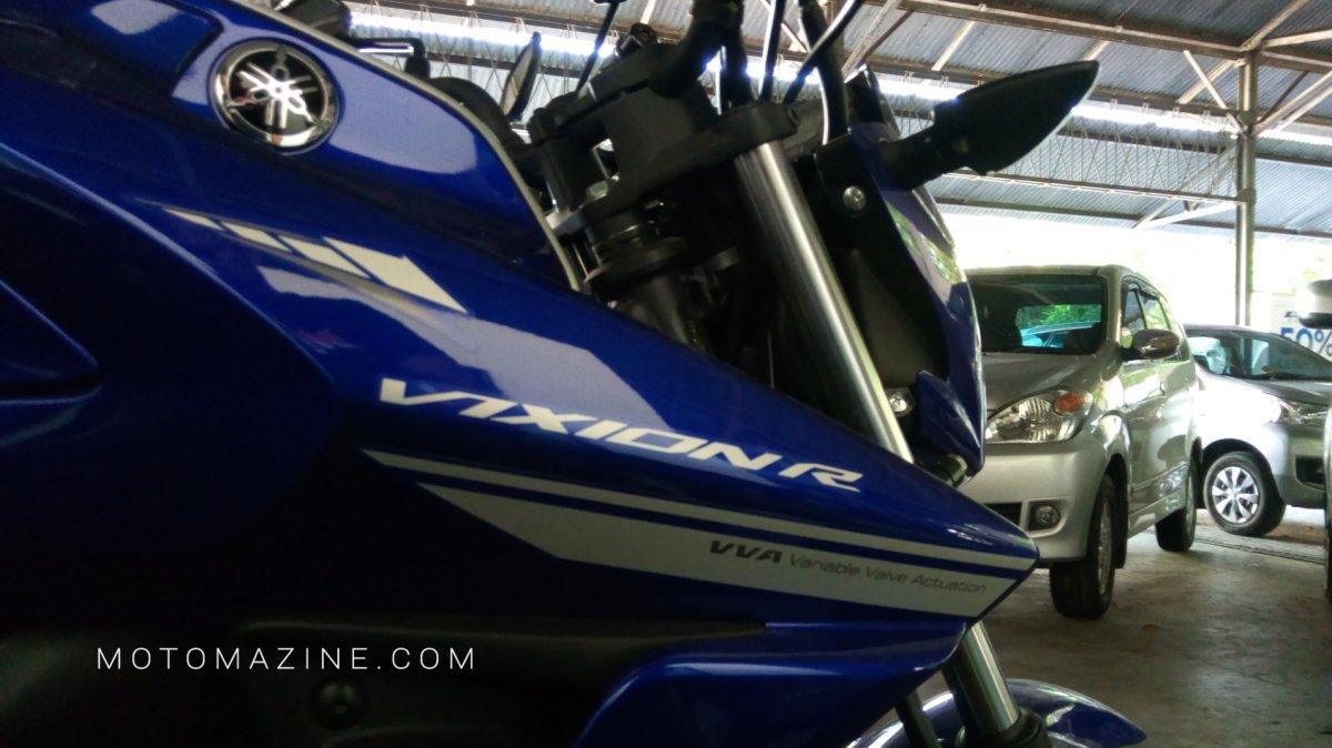 Monggo Urun Rembug Cak, Apa Saja yang Bisa digali dari Daily Use All New Yamaha Vixion R ini?