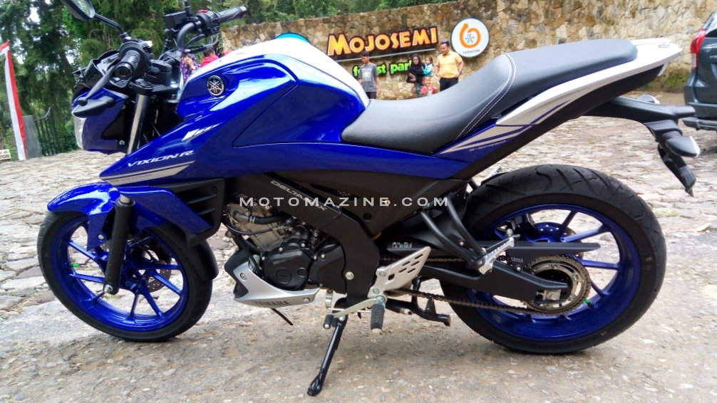 Begini Mantabnya Handling All New Yamaha Vixion R. Soal ini Yamaha EmangJuara!!!