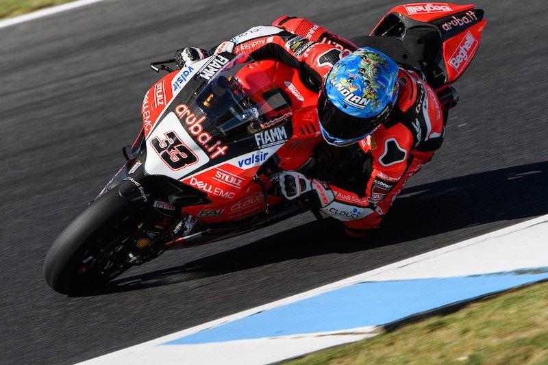 WSBK: Marco Melandri Kembali Menangi Race 2 Australia. Double Podium Again for Ducati…!!!