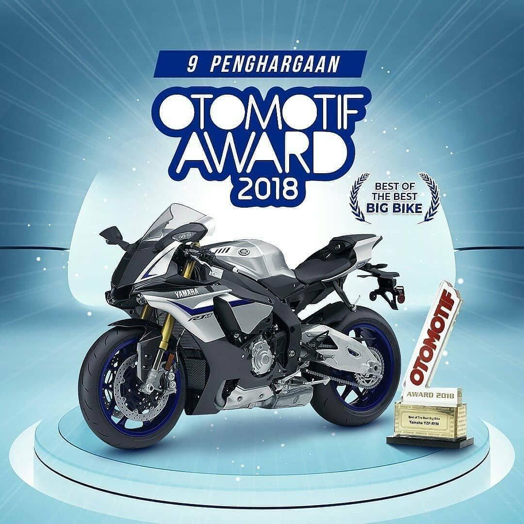 Yamaha YZF-R1M Sabet Best of the Best Big Bike versi Otomotif Award2018