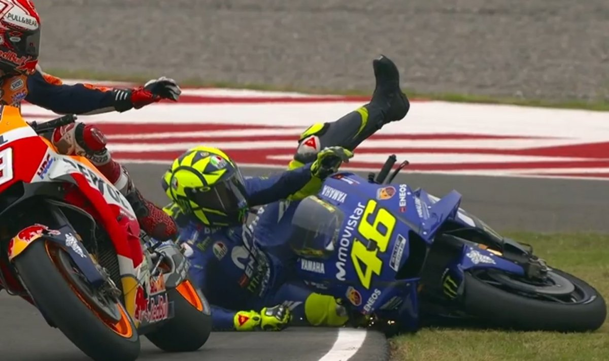 Hasil Race MotoGP Argentina: Crutchlow Juara, disusul Zarco dan Rins. Rossi Clash samaMarquez!
