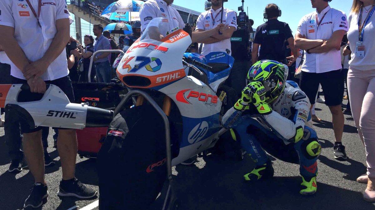 Lorenzo Baldassarri Juara Moto2 Jerez disusul Oliveira dan Bagnaia. Duo Italia onPodium!