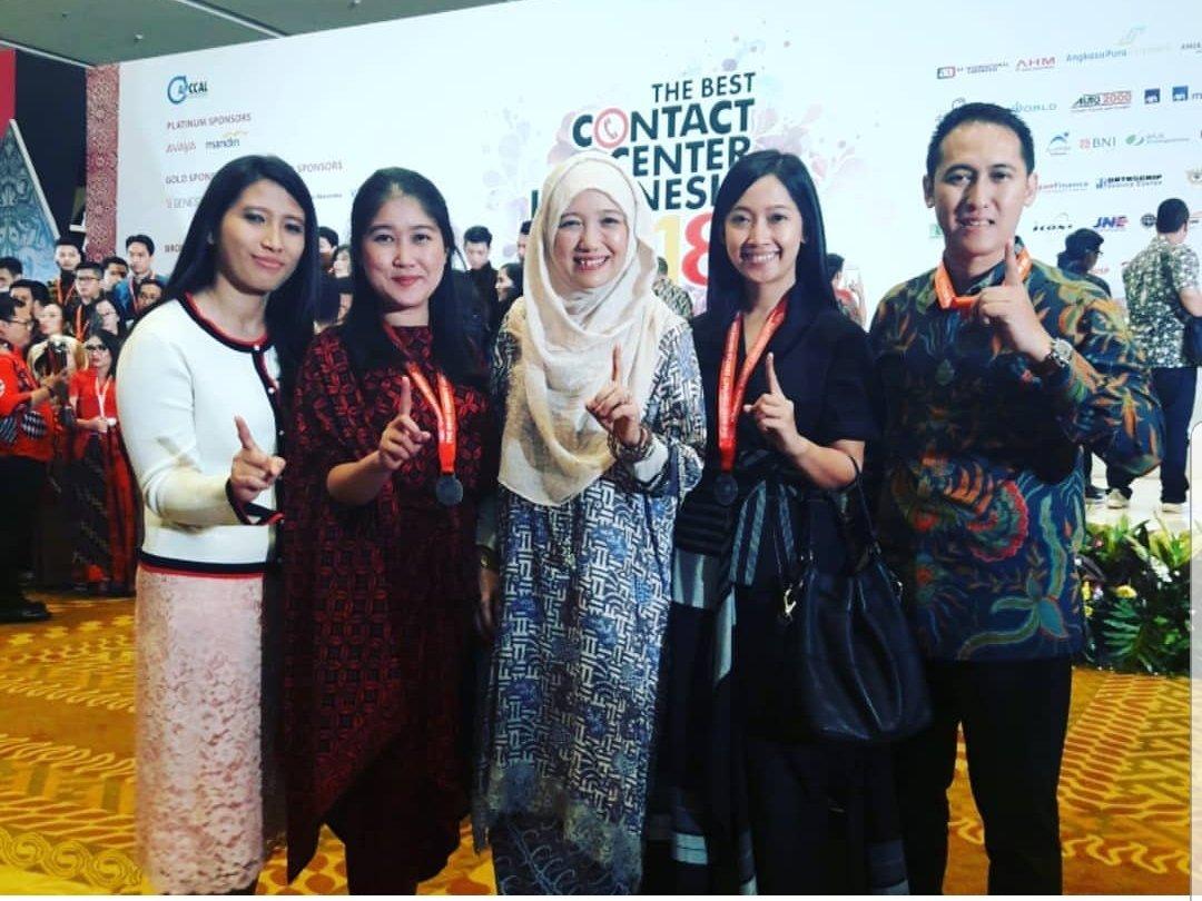 Kembali Unjuk Prestasi, HC3 Head MPM Berhasil Meraih The Best Manager Customer Service pada Penghargaan The Best Contact Center Indonesia (TBCCI)2018