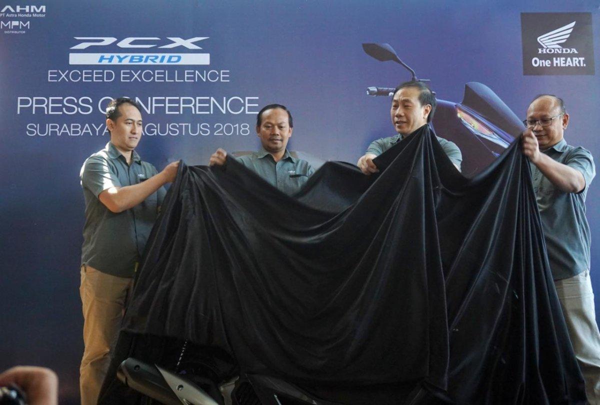 MPM Resmi Boyong All New PCX Hybrid ke Jatim. Simak HarganyaSam!