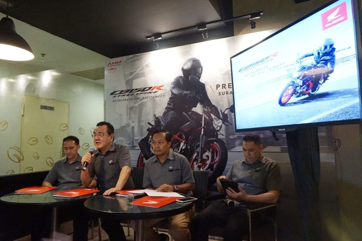 MPM Resmi pasarkan Honda CB150R SF dan CBR250RR Varian Terbaru di Jatim. Kuy Simak HarganyaCak!