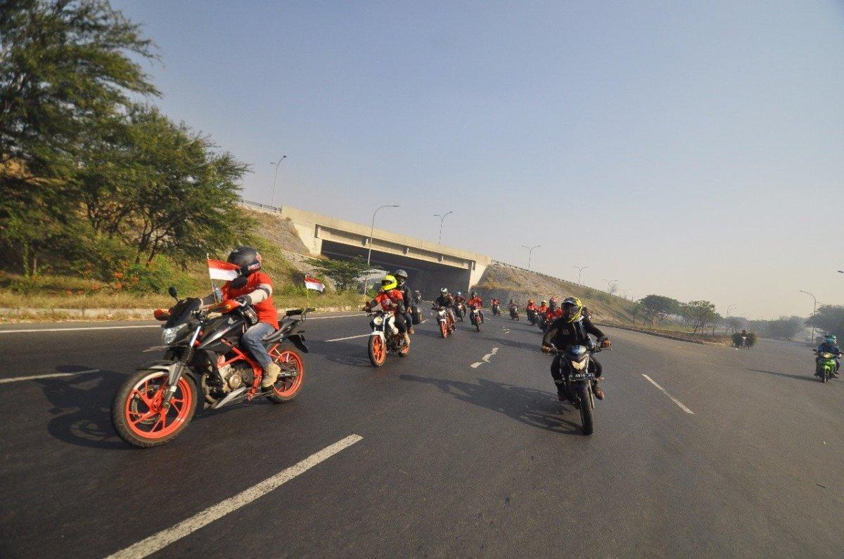 Convoy Merdeka, Wujud Bikers Honda Peringati 73 tahun IndonesiaMerdeka
