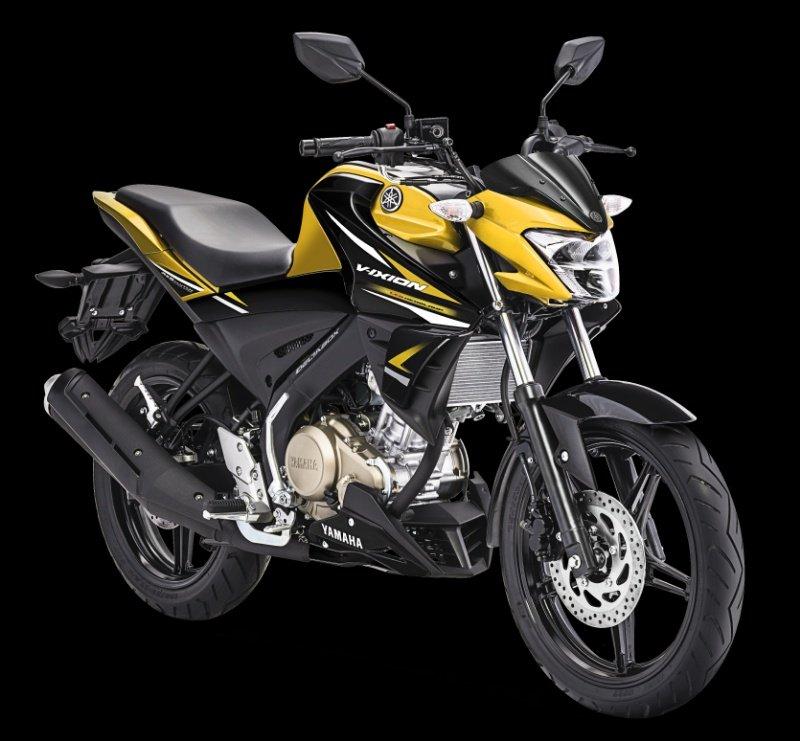 Yamaha Rilis Warna Baru untuk Vixion R dan Vixion,  Warna Kuning ikutNimbrung