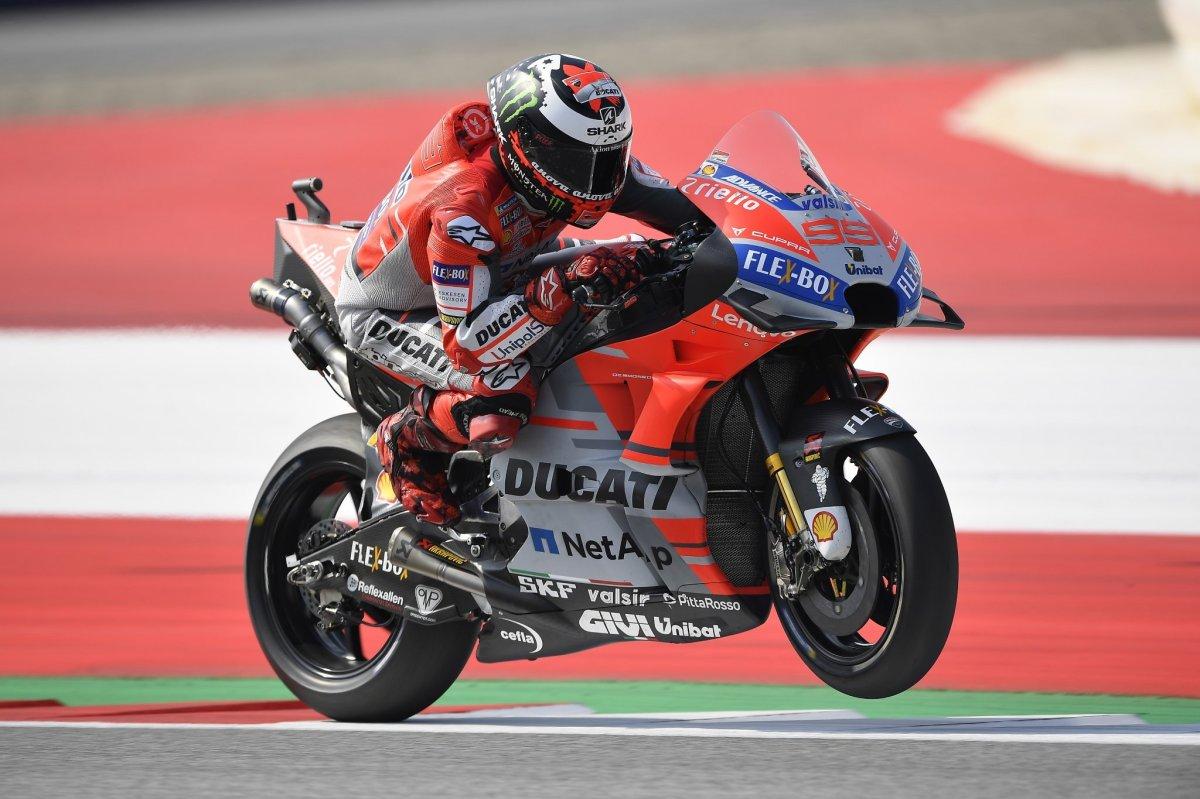 Lorenzo Menangi GP Austria, dibalik Mumetnya Ducati, Kalah Duelnya Marquez dan HeroiknyaRossi!