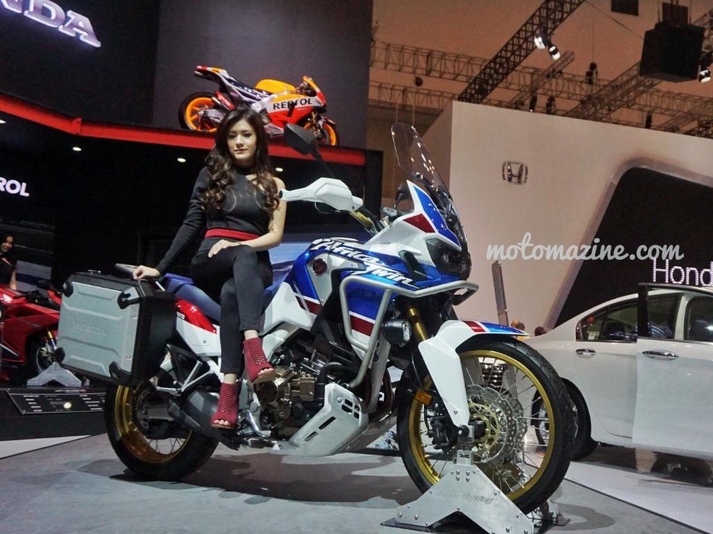 Panen, Selama Event GIIAS 1.000 Motor Honda SuksesTerjual!