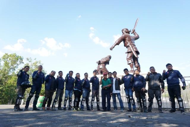 MPM Ajak Blogger Vlogger Jatim Touring Kemerdekaan nge-Gasss ke Mojosemi. Ada Banyak Berkah diSana!